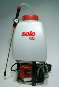 Five Gallon Solo Gas Powered